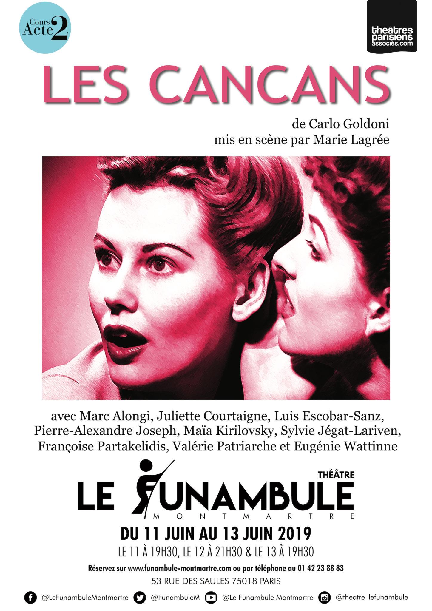 Affiche funambule_cancans pas lourds