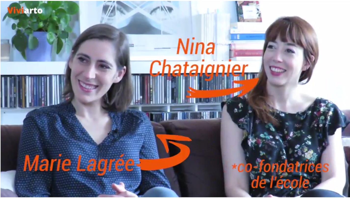 Marie et Nina à l'honneur sur Viviarto !