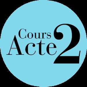 Cours Acte 2