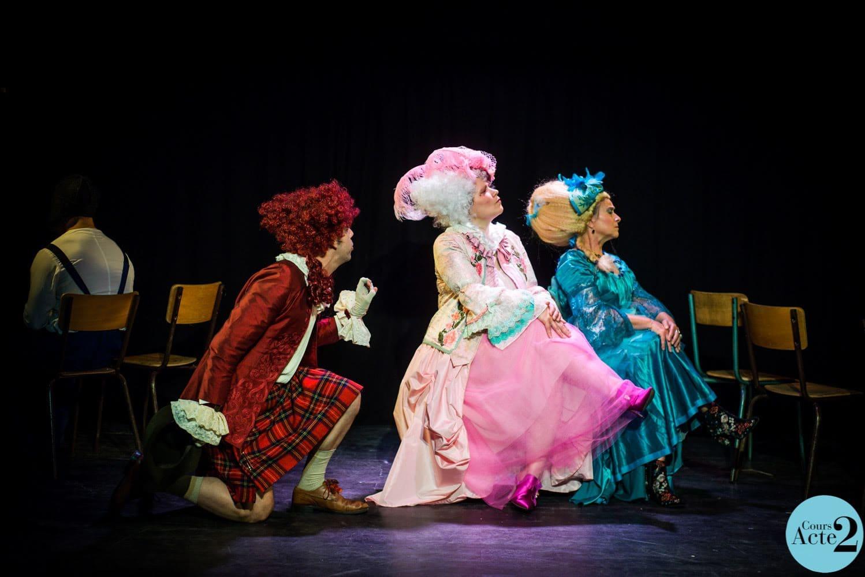 Spectacle de fin d'année théâtre amateur