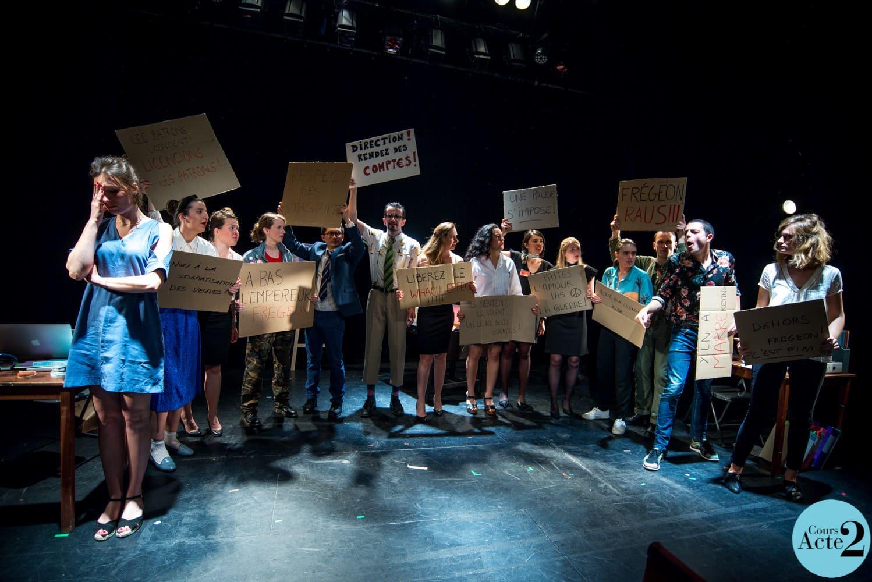 Cours théâtre à Paris