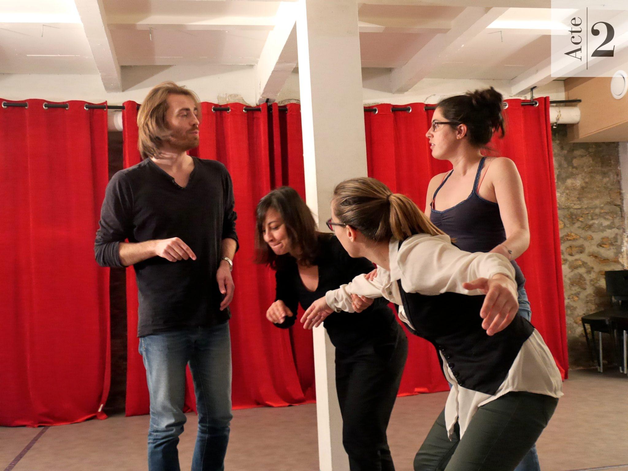 Photos des cours de théâtre 2016. 4e partie.